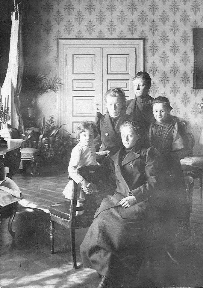 The children of Duke Karl Theodor of Bavaria
