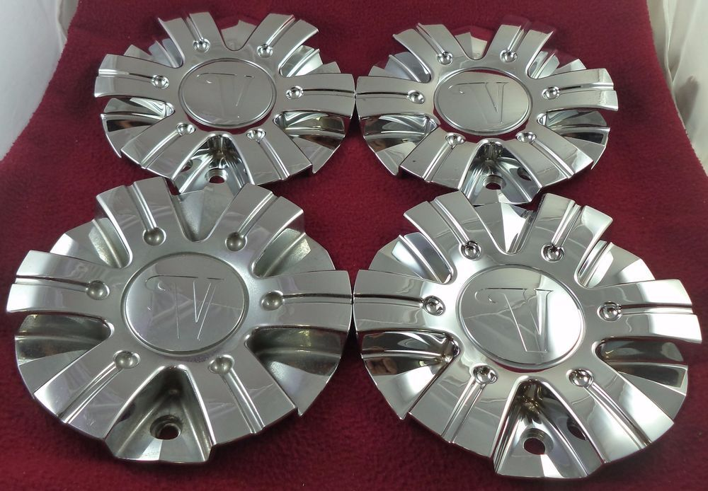 """Set of 4 15/"""" Inch Snap on Silver Hub Caps for 2002-2005 Volkswagen Beetle"""