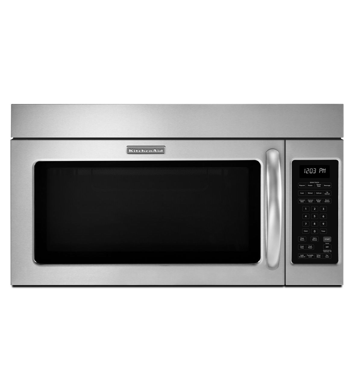 Kitchenaid 174 30 1000 Watt Microwave Hood Combination