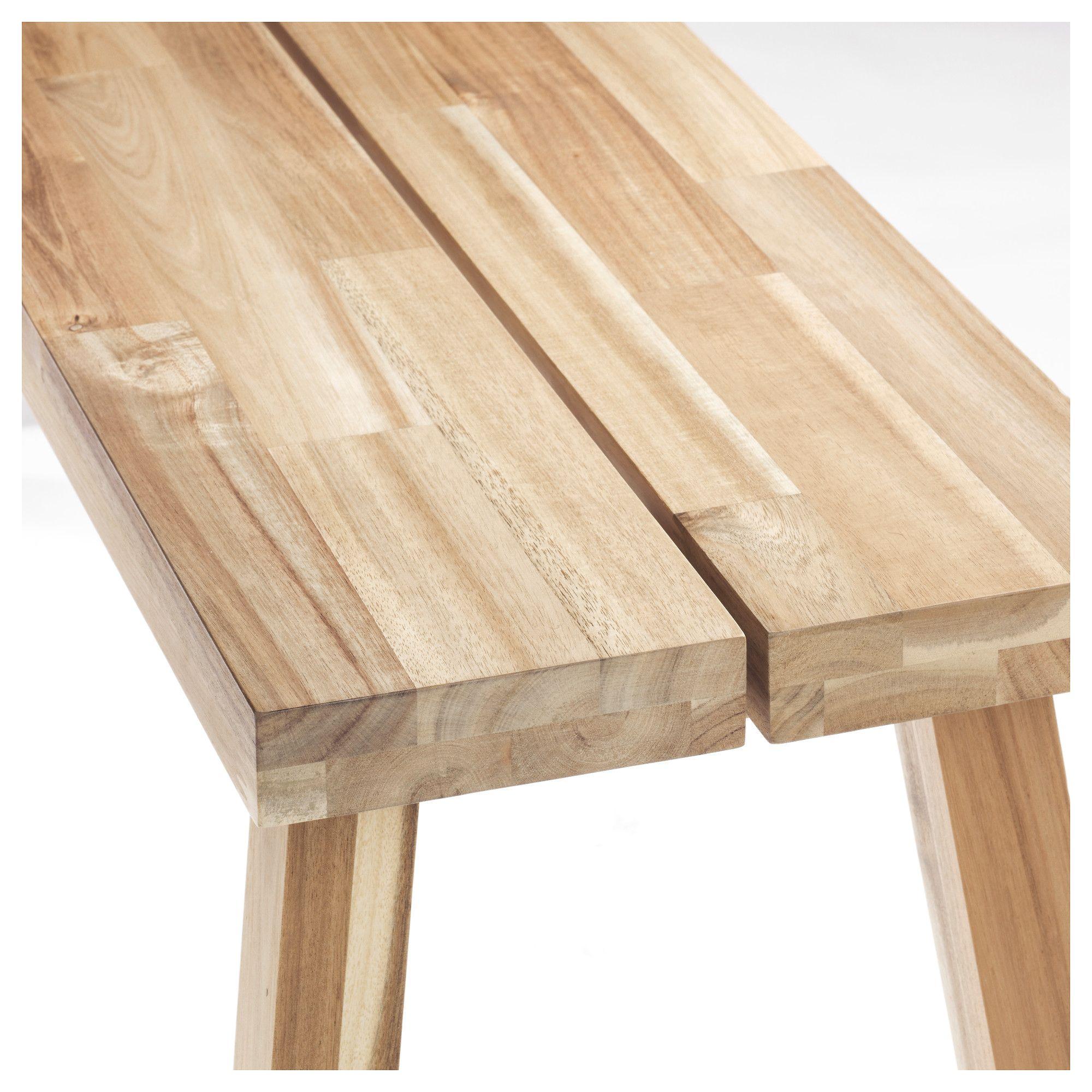 Ikea Houten Bank.Ikea Skogsta Bench Acacia In 2019 Ikea Solid Wood Ikea