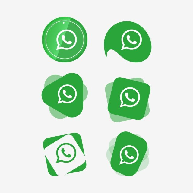Whatsapp Icon Logo Collection, Social, Media, Icon PNG and