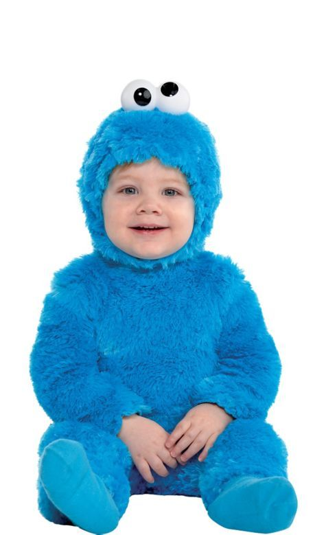 Light Up Sesame Street Cookie Monster Costume For Toddler Boys Party Ci Cookie Monster Costume Cookie Monster Costume Toddler Baby Halloween Costumes For Boys