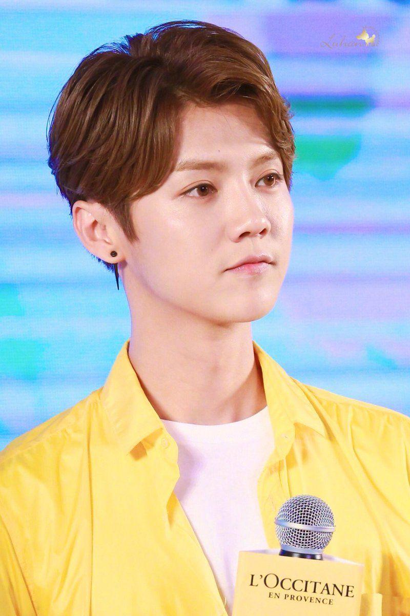 Boy hairstyle logo precious deer luhanland  twitter  hun han chan min kris tao
