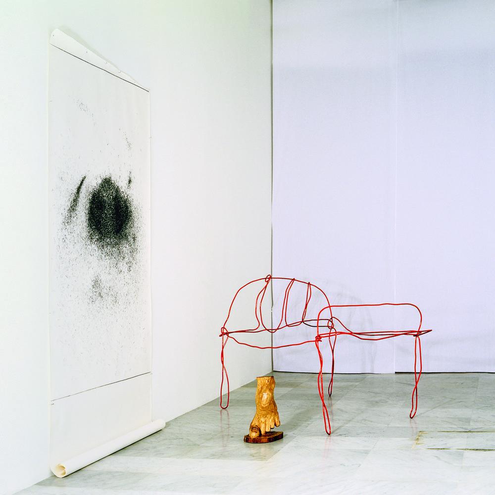 """Mi Cuarto"" 1997 mixmedia 300 x 300 x 300 cm."