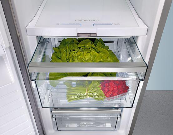 Siemens Kühlschrank Vitafresh : With the vitafresh zone by siemens vitamins are preserved for a