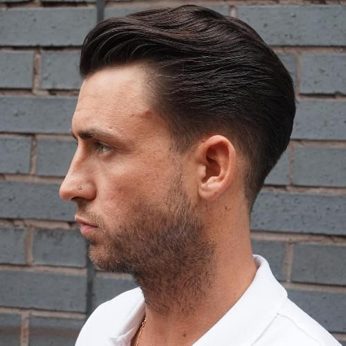 20 Trendy Slicked Back Hair Styles Slicked Back Hair Mens Slicked Back Hairstyles Slick Back Haircut