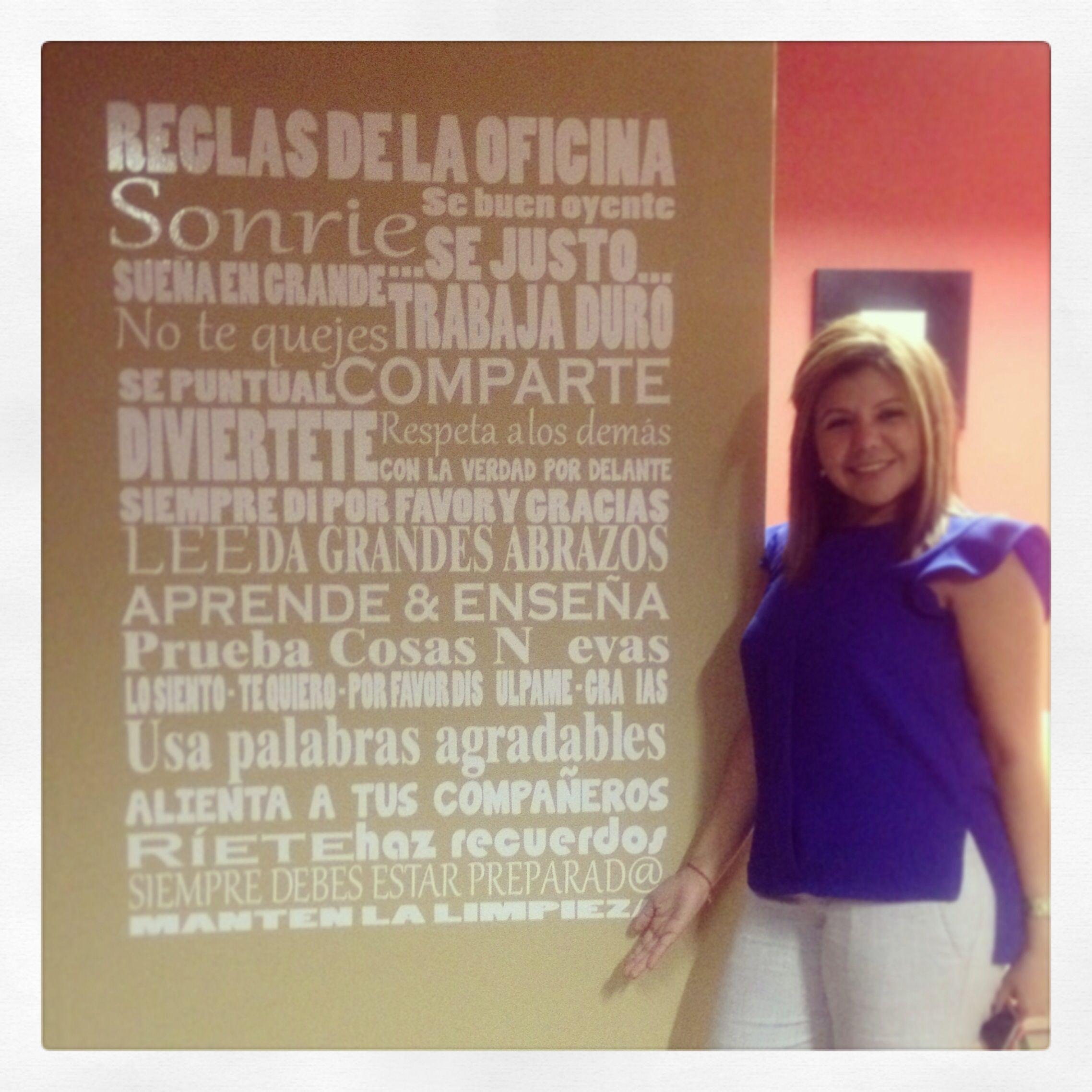 Reglas de la Oficina, office rules | decoracion cevaxin | Pinterest ...