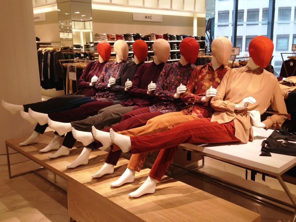 BREUNINGER | Dusseldorf | Hans Boodt Mannequins | mannequin ...