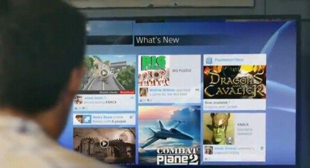 Sony muestra un Trailer promocional de la interfaz de usuario del PlayStation 4.