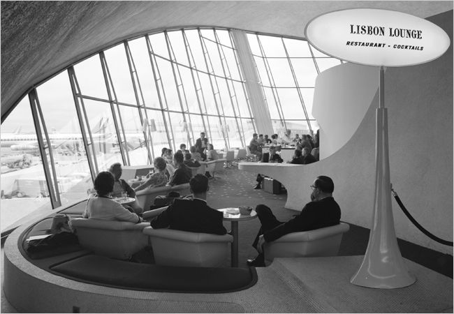 TWA's terminal at what was then Idlewild Airport, in 1962.
