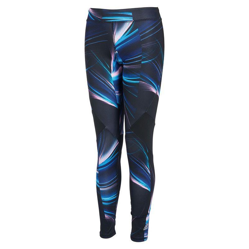 71d7706c2 adidas Girls Mid Rise Leggings - Big Kid | Products | Adidas, Knit ...