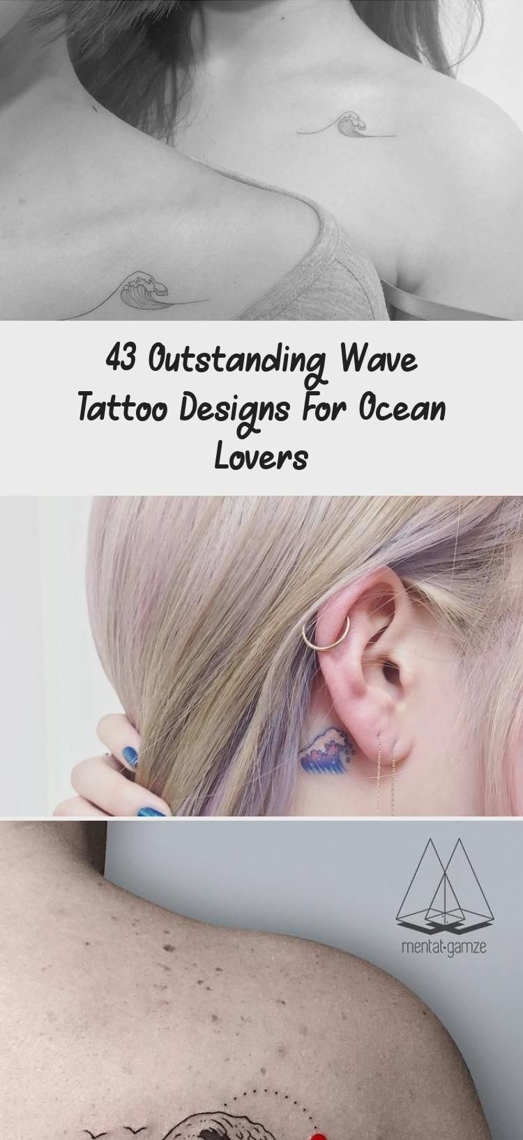 43 Outstanding Wave Tattoo Designs For Ocean Lovers – Tattoos –  Little Wave Tattoo on Ankle by victoriascarlet93 #estimular #TattoosandBodyArtPerspec…