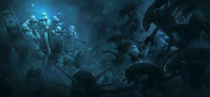 Aliens vs StormTroopers