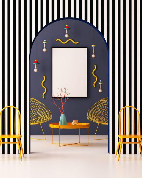 Resultat De Recherche D Images Pour Memphis Interior Design