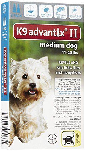 Dog Flea Drops K9 Advantix Ii Medium Dog 2pack Click Image To Review More Details This Is An Amazon Affilia Medium Dogs Dog Shedding Dog Training Collar