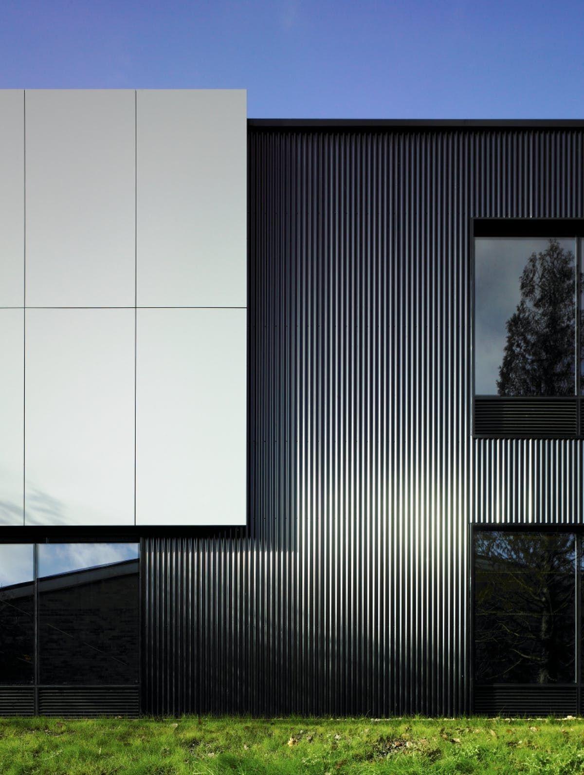 Modern Factory Facade Design Modern House