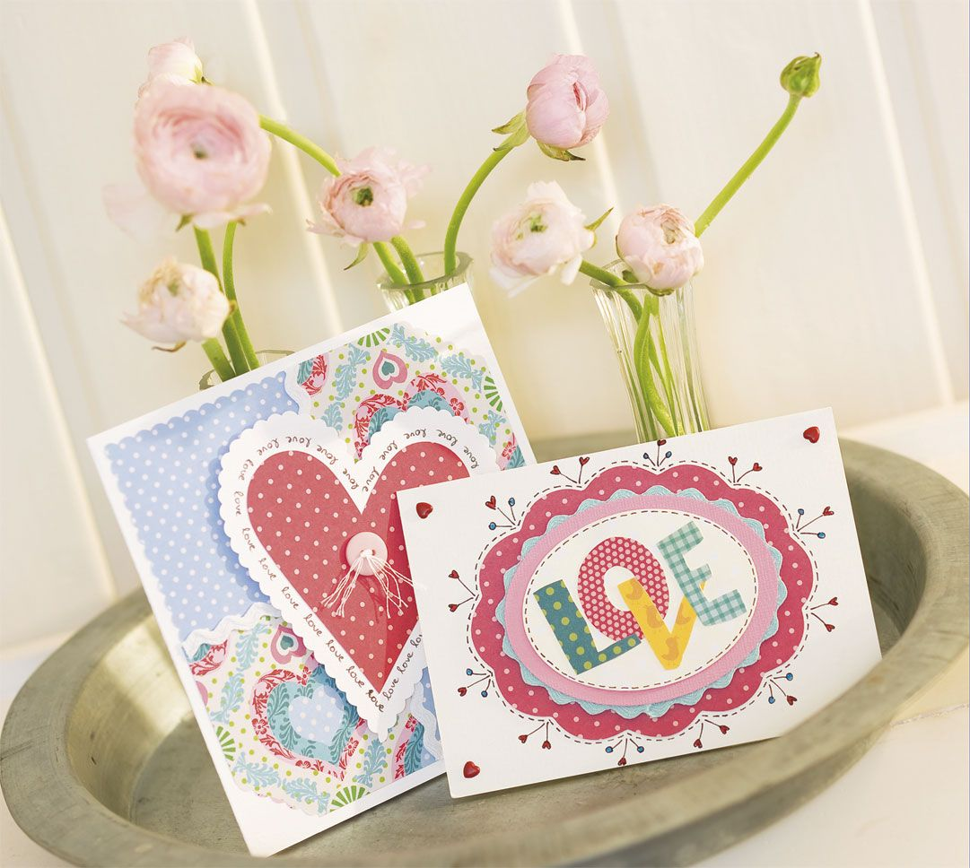 How to make homemade valentineus cards cards cardmaking and