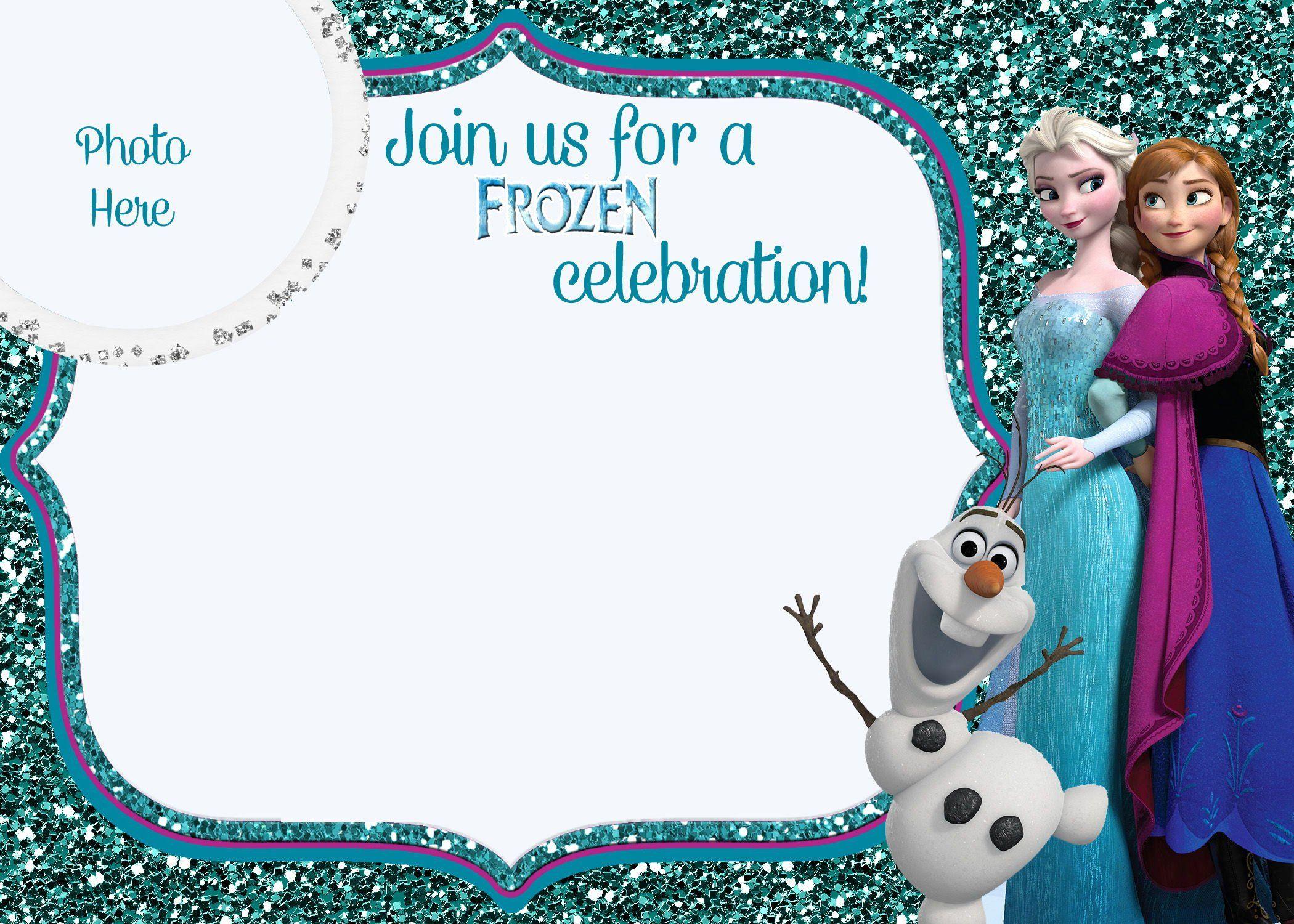 Frozen Birthday Party Invitation Inspirational Free Printable Frozen M Frozen Birthday Invitations Frozen Birthday Party Invites Printable Birthday Invitations