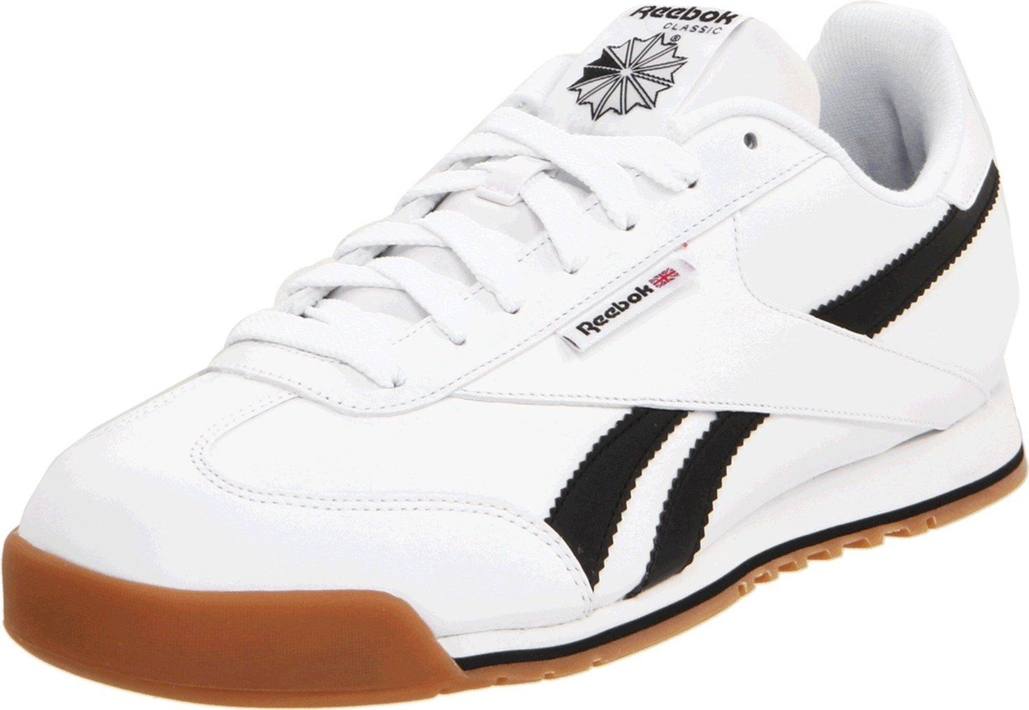 reebok mens classic leather r13 ripple sneaker