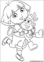 Desenhos Do Dora A Aventureira Para Colorir Com Imagens