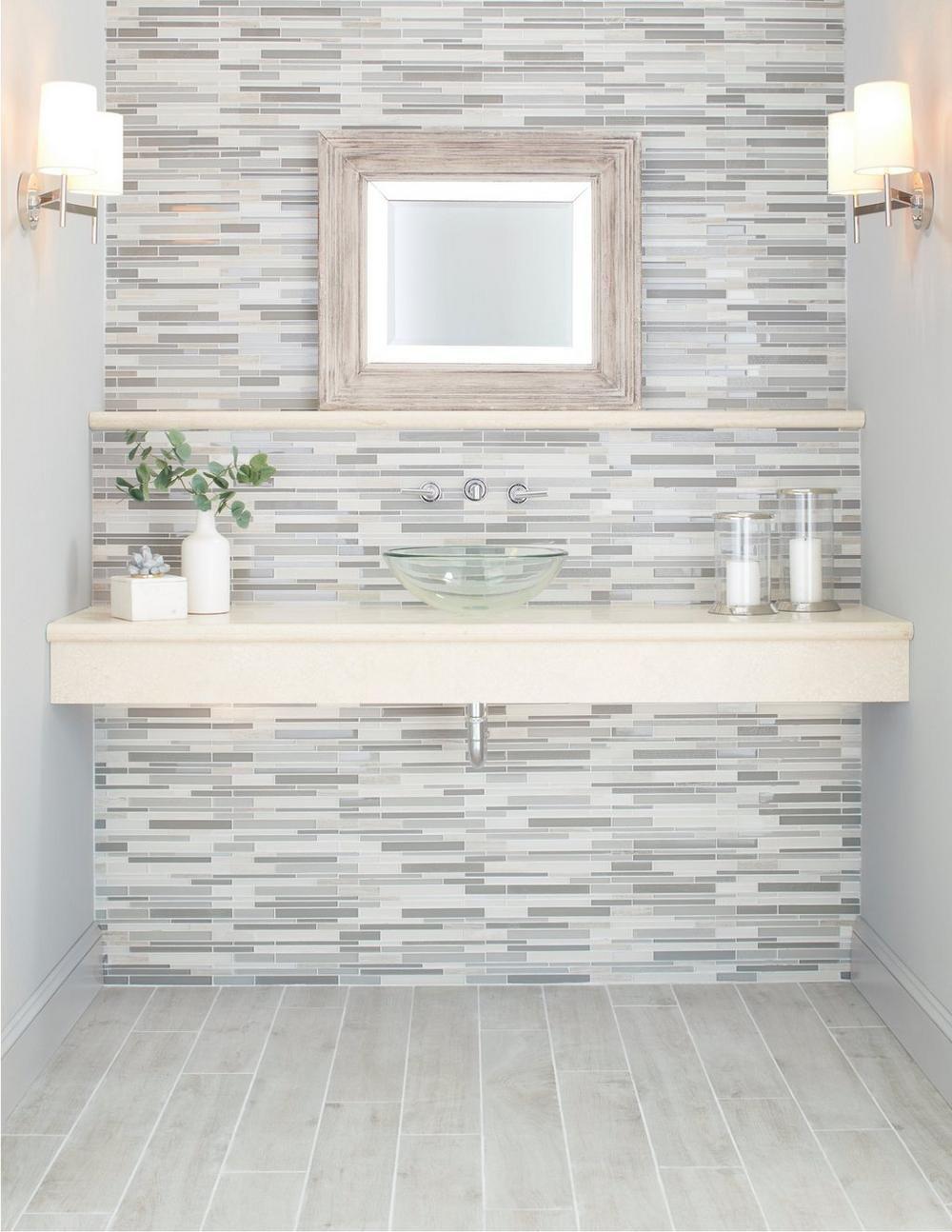 Tabula Fog Wood Plank Porcelain Tile Floor Decor Floor Design Floor Decor Bathrooms Remodel