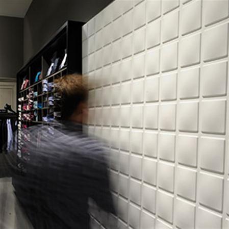 Set de 12 paneles con relieve para pared Cubes 3D Wall Decor