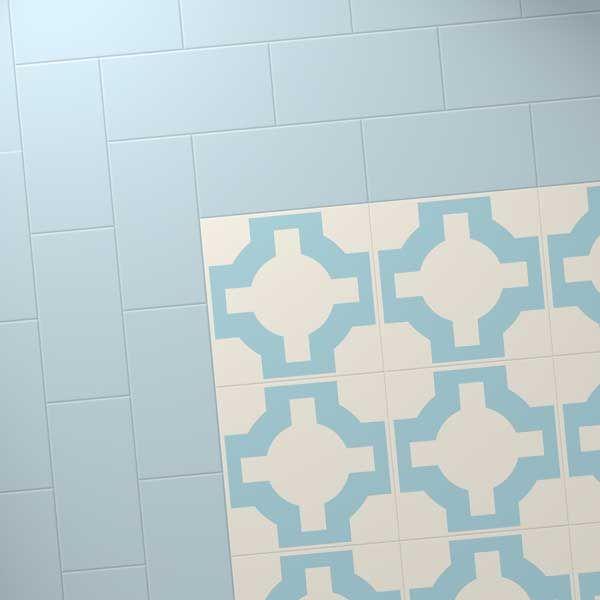 Plain Blue Coloured Floor 36 50 Per Square Metre Vinyl