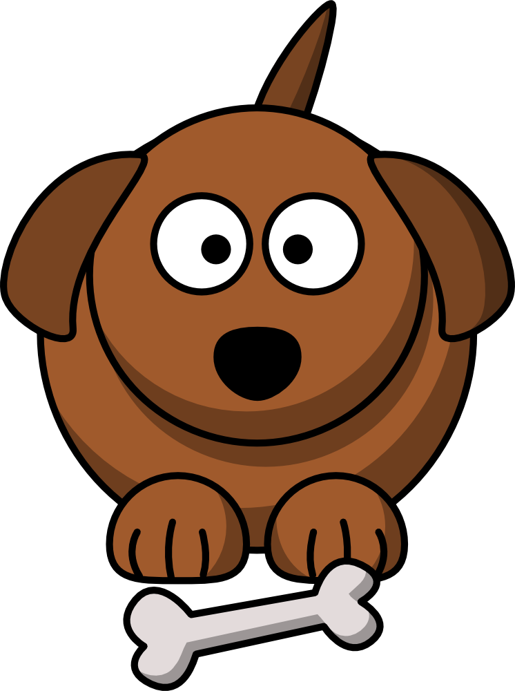 cute cartoon dog graphic more free clip art at onlinelabels com rh pinterest com free clipart dog pictures free clipart dog silhouette