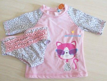 Conjunto Camisa Calcinha Protecao Solar Uv 50 Bebe Infantil Baby