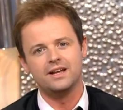 declan donnelly broken arm