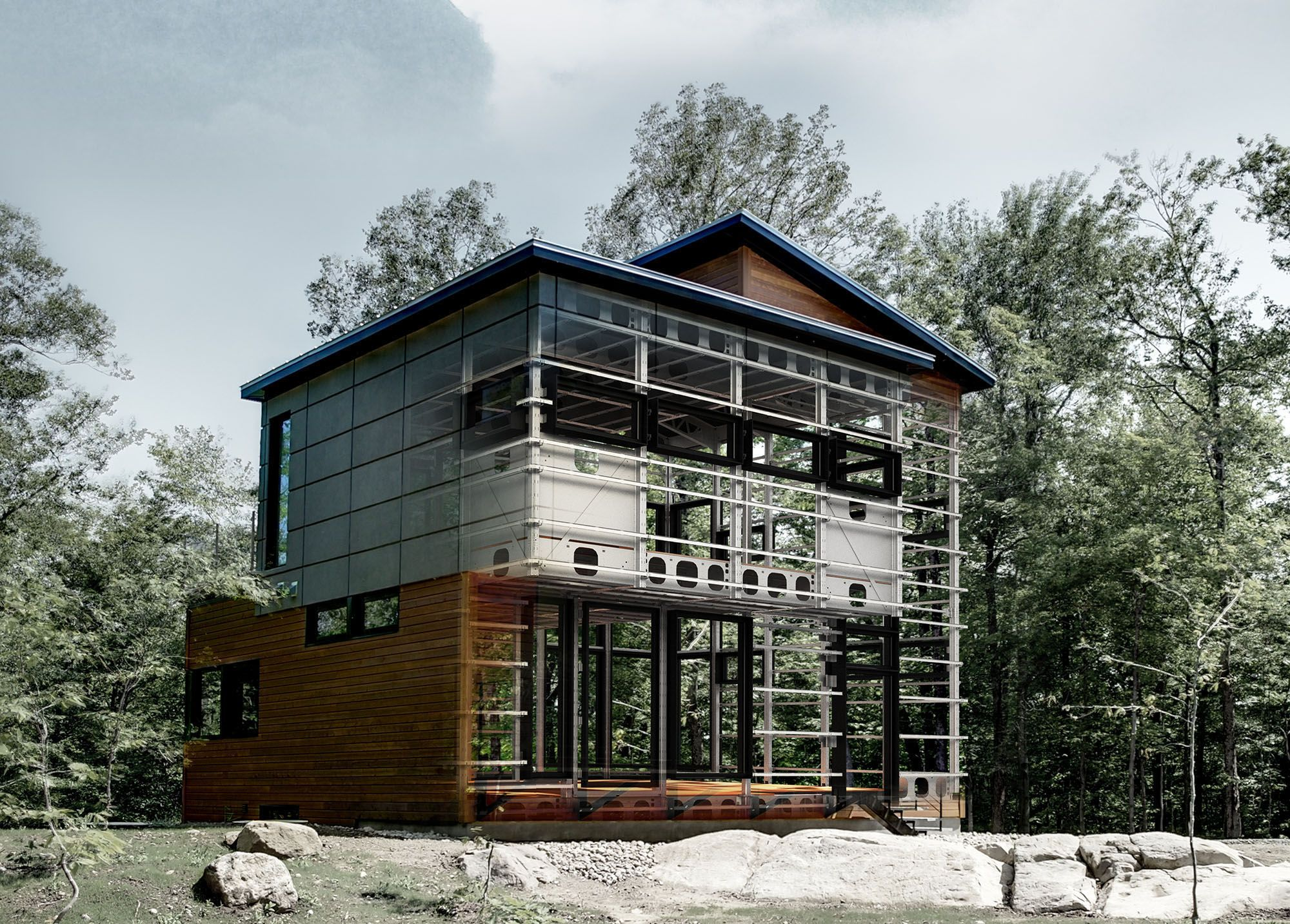 Steel Built Homes Bone Structure An Innovative Quebec Based Company That Builds