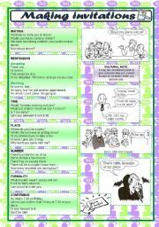 English teaching worksheets invitations telephone conversation english teaching worksheets invitations stopboris Image collections