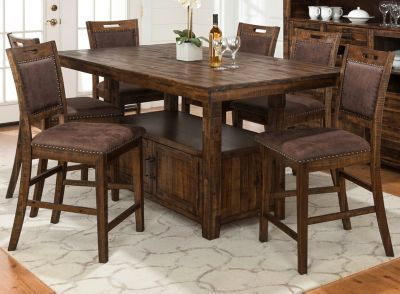 Cannon Valley 7 Pc Counter Height Dining Set Counter Height