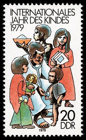 Briefmarken 1979 der Deutschen Post der DDR