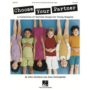 Choose Your Partner ( 812140), M, B & R Music Classroom Books & Materials Song Collections