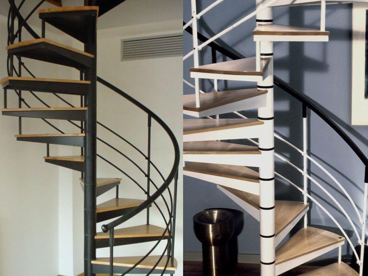 www.escalier-mobilier.com Escalier hélicoïdal avec platine ...