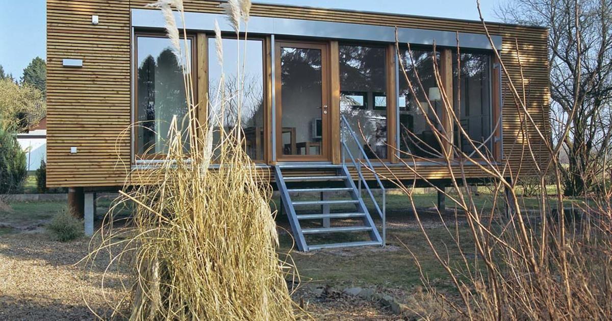 Minihaus aus Holz zum Mitnehmen – DAS HAUS – Tiny Houses⛺️