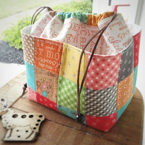 These Pretty Bags are So Easy to Make #diyprojects