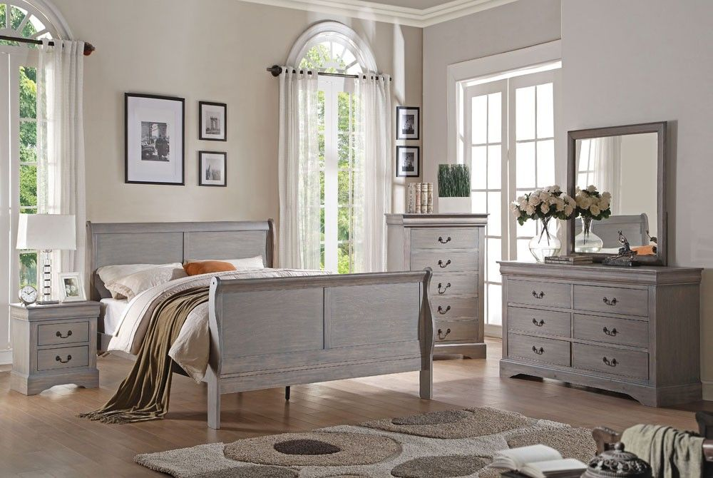 Remarkable Gray Bedroom Furniture In Decorating Home Ideas with Gray ...