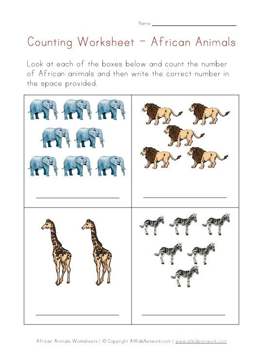 Animals Worksheets African Animals Animal Planet