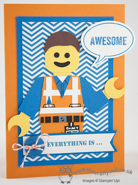 The Crafty Owls Blog Everything Is Awesome Lego Movie Punch