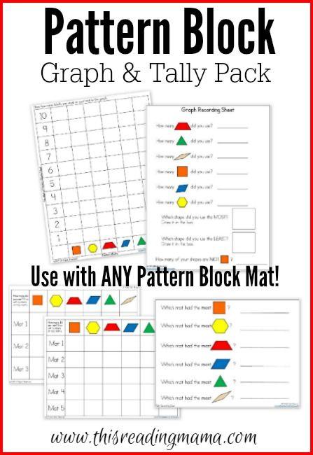 Thanksgiving Mats for Pattern Blocks Pattern blocks - pattern block template
