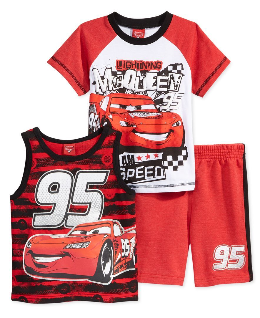 Disney Cars 3 Toddler Tank Top /& Short Set 2T