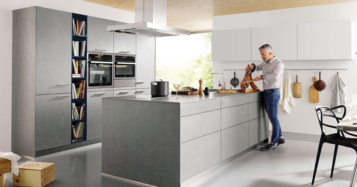 Ideas Industriele Keuken : Helemaal van nu de betonlook keuken. het geeft direct een stoere en