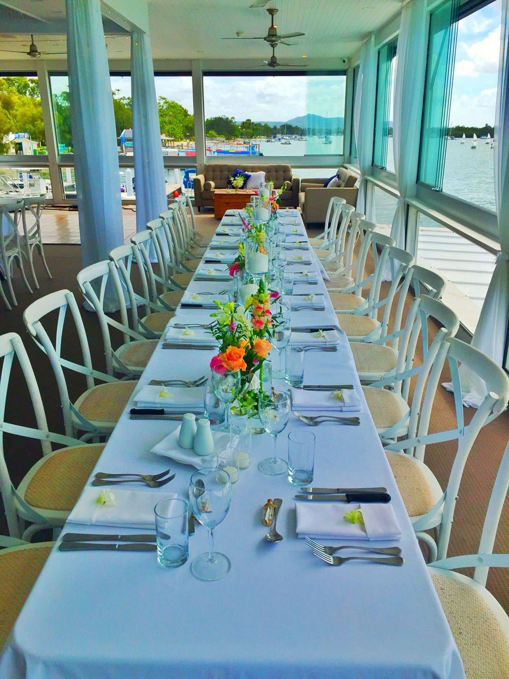 Noosa Wedding Reception Noosa Boathouse River Room River Room