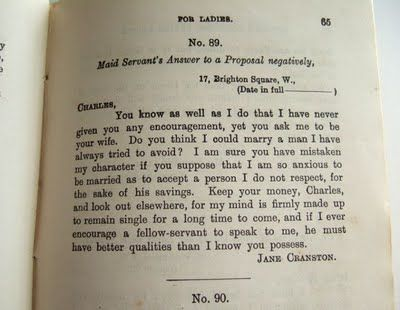 Declining a proposal !!!! too funny remarkable and - marriage proposal letter