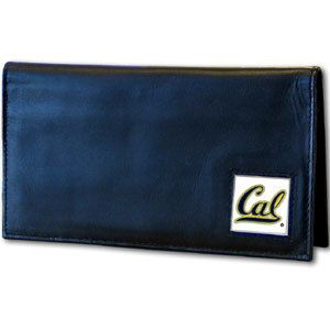 Cal Berkeley Bears Deluxe Leather Checkbook Cover