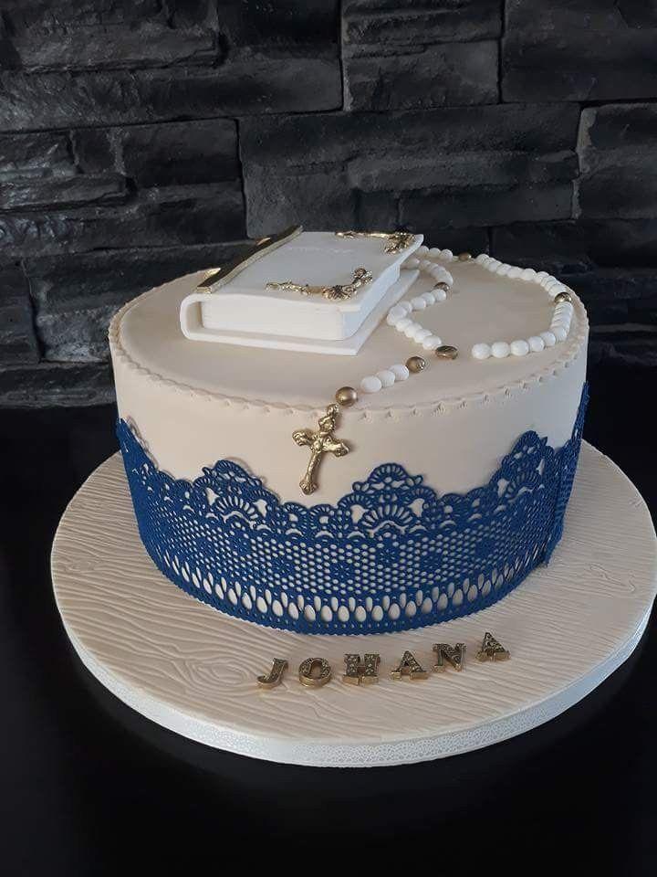 Pin Von Sandy Kluger Auf Kuchen Ideen Kommunion Torte Taufe Kuchen Kommunion