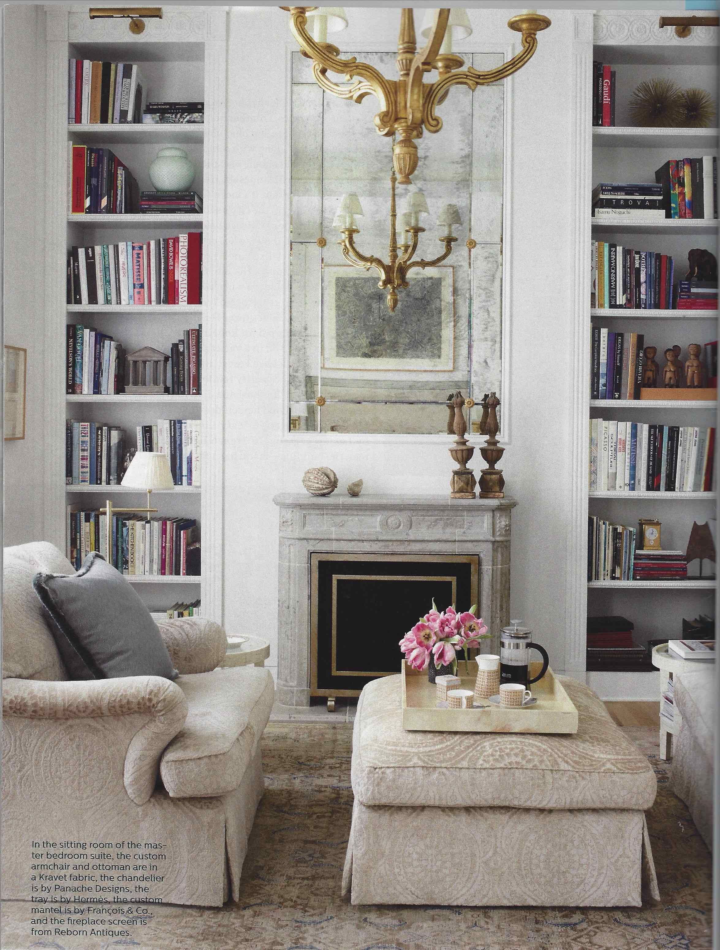 Elle Decor Timothy Corrigan Traditional Bedroom Decor Interior