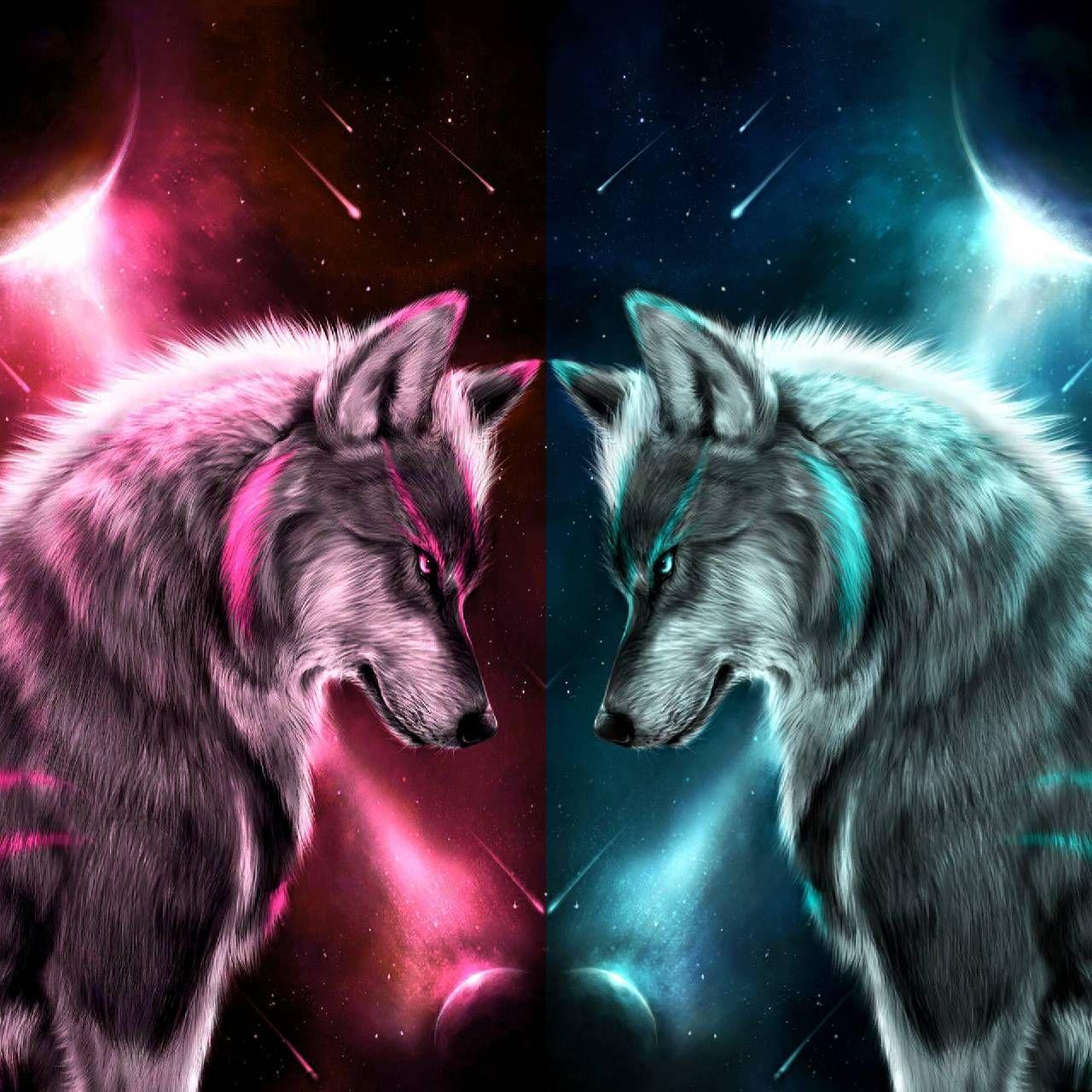 Pin By Celia On Sky Wolf Artwork Cute Animal Drawings Wolf Spirit Animal